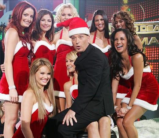 Meghan Markle as Sexy Santa