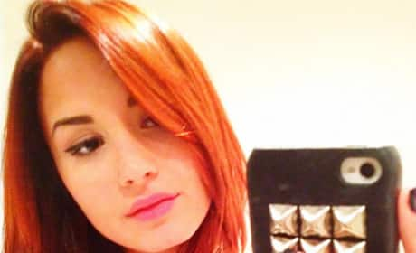 Do you like Demi Lovato with red hair?
