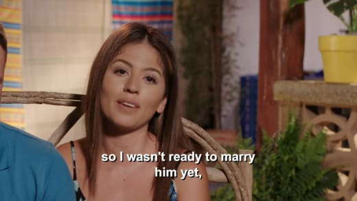 Evelin Villegas - I wasn't ready to marry him yet