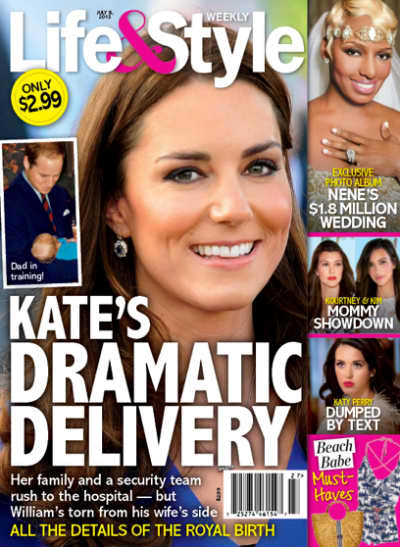 Kate Middleton Delivery