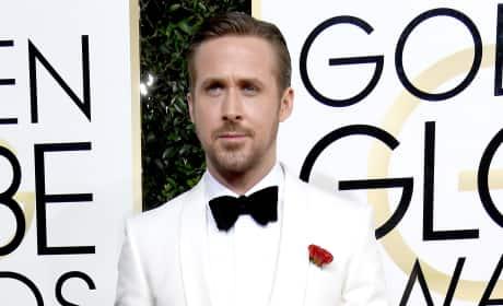 Ryan Gosling at the Globes