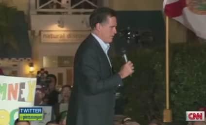 "Mitt Romney Sings ""America the Beautiful,"" Awkwardness Ensues"