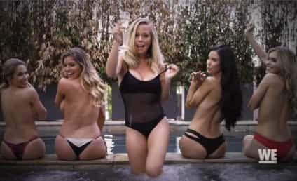 Kendra Wilkinson Shoots Topless Video for Hugh Hefner's 90th Birthday