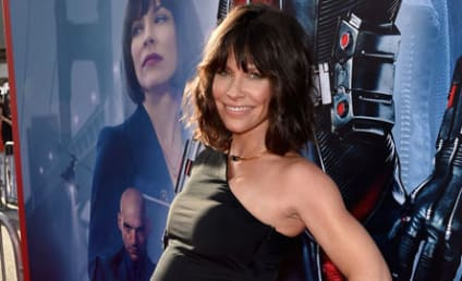 Evangeline Lilly Debuts Baby Bump at Ant-Man Premiere
