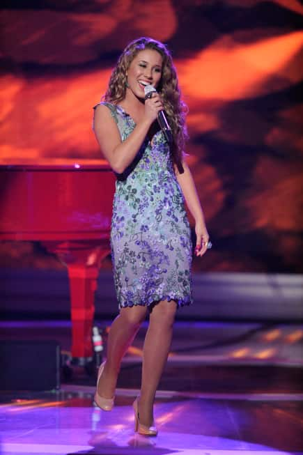 Haley Reinhart on Stage