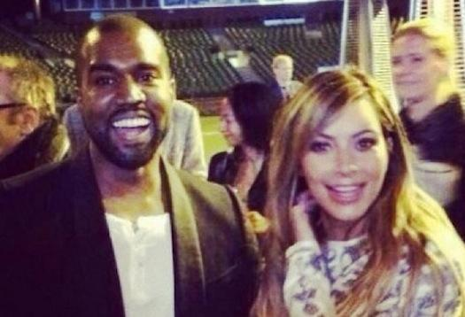 Kanye West and Kim Kardashian Engagement