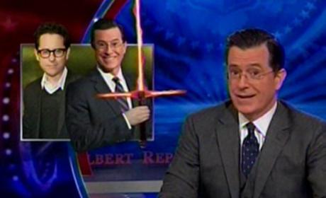 Stephen Colbert Retires The Colbert Report