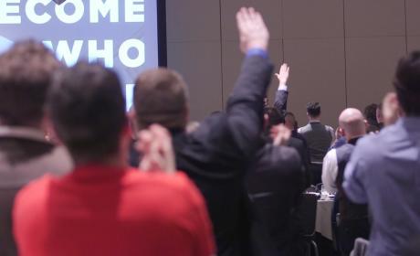 "Richard Spencer Leads Neo-Nazis in ""Hail Trump"" Salute"