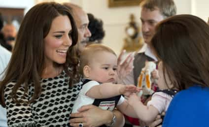Kate Middleton, Prince George Have Most-Watched Playdate Ever: See the Photos!