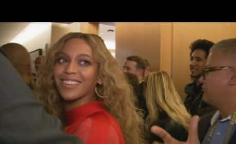 "Beyonce: I'm ""Proud"" of Super Bowl Performance"