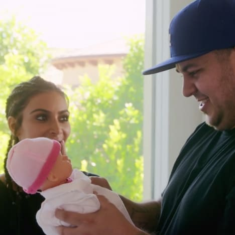 Rob Kardashian Baby Pic