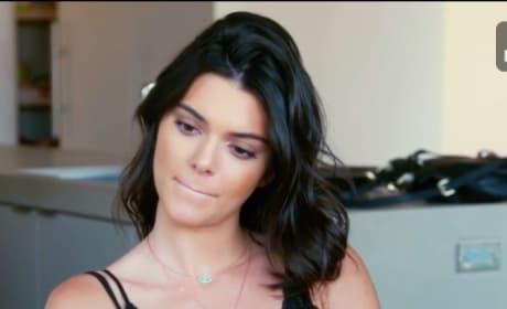 Kendall Jenner Listens to Kim