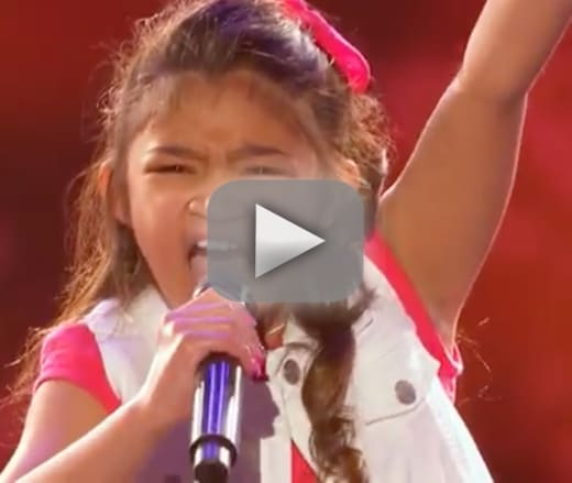 Angelica hale 9 year old singing sensation earns golden buzzer o