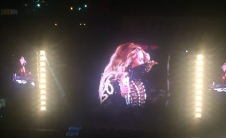 Beyonce at Citi Field