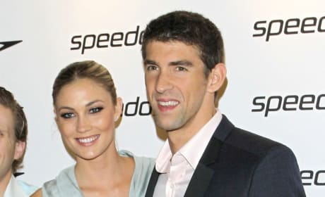Megan Rossee, Michael Phelps Photo
