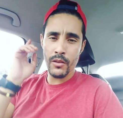 Mohamed Jbali Wears Red