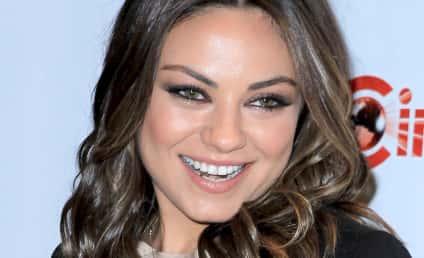"""Mila Kunis Labels Ashton Kutcher Dating Rumor """"Absurd"""""""
