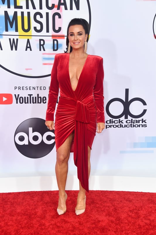 Kyle richards at 2018 amas