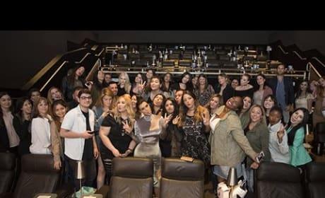 Kim Kardashian Surprises Fans at Movie Theater, Reveals Weight Loss Secret