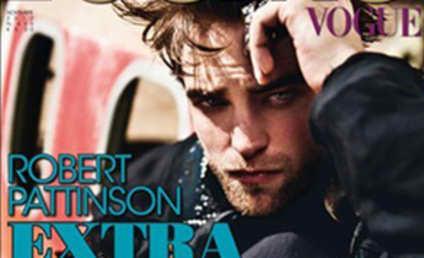 Robert Pattinson: Leather-Clad in Vogue Italia!
