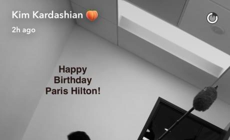 Kim Kardashian: Happy Birthday to Paris Hilton!
