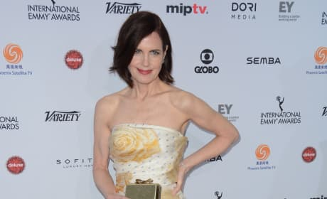 Elizabeth McGovern: 43rd International Emmy Awards