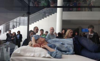 Tilda Swinton Sleeps in Box: Is This Art?