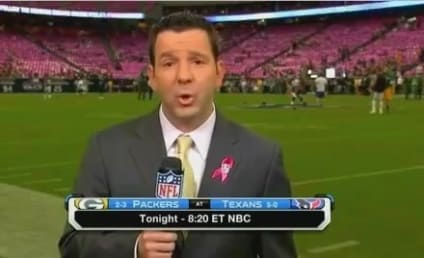 NFL Network Reporter Hit in the Face By Football on Live TV