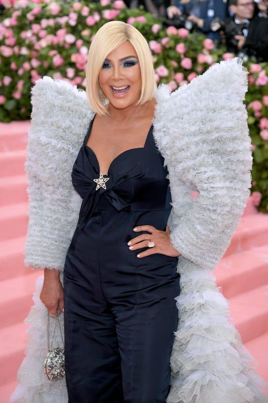 Kris jenner at 2019 gala