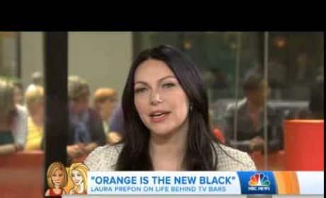 Laura Prepon Talks Orange is the New Black