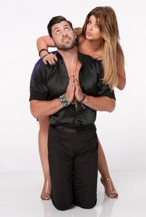 Kirstie Alley and Maksim Chmerkovskiy DWTS Picture