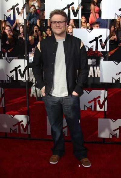 Seth Rogen at MTV Movie Awards