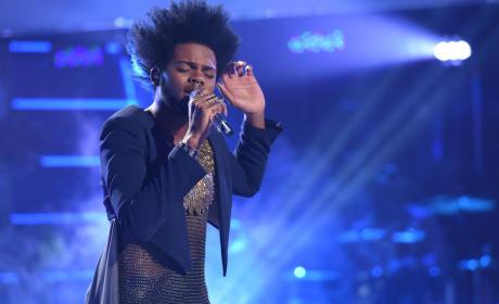 Quentin Alexander on Idol