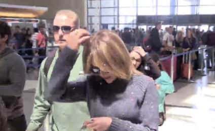 Jennifer Lopez Attacked ... With Confetti: Watch!