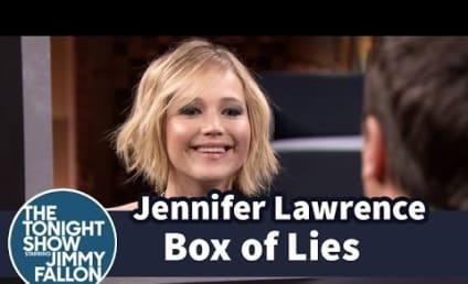 Jennifer Lawrence Takes on Jimmy Fallon in Box of Lies: Who Won?!?