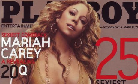 Mariah Carey Playboy Cover