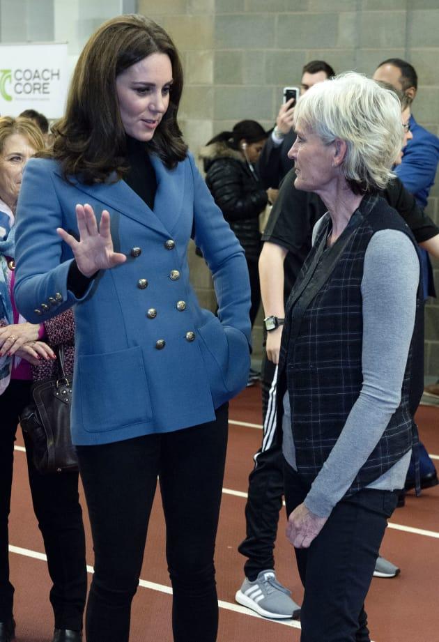 Kate Middleton in a Blazer