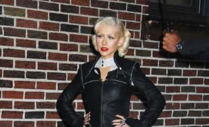 Christina Aguilera: No Pants? No Problem!