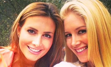 Heidi Montag and Jen Bunney Photo
