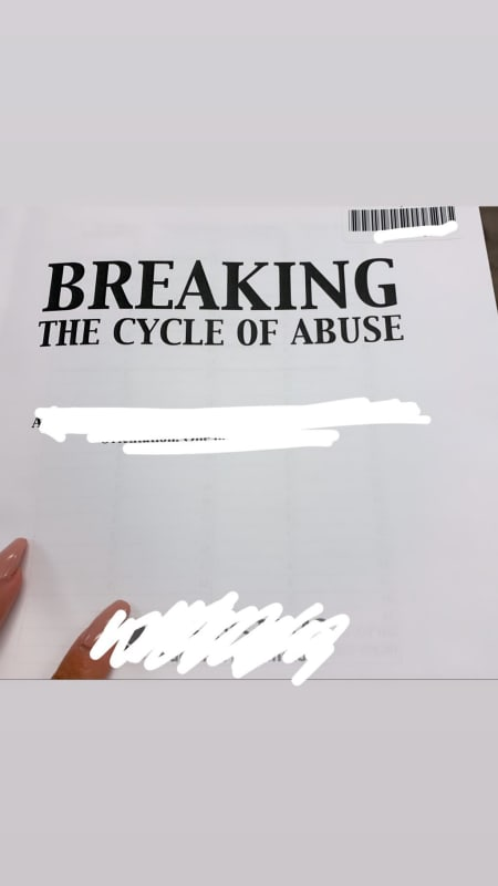 Larissa lima ig stories breaking the cycle of abuse