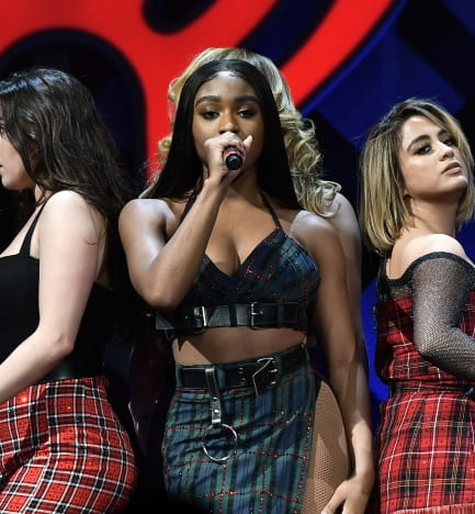 Fifth Harmony on a Stage