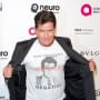 Charlie Sheen Shows Off Shirt