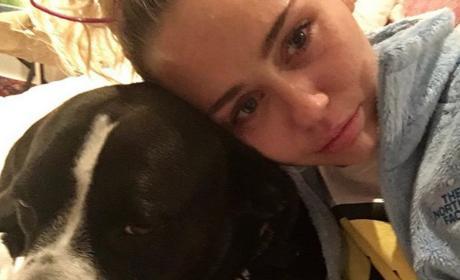 Miley Cyrus is Sad