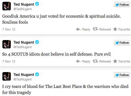 Nugent Tweets 2