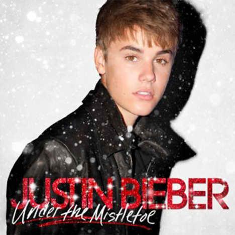 Justin Bieber Christmas Album Cover