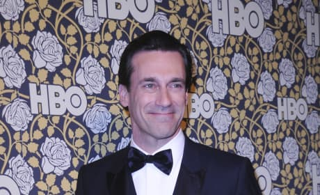 Jon Hamm: HBO's Post-2016 Golden Globe Awards Party