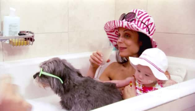 Bethenny in the Bath