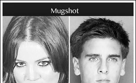 Khloe Kardashian posted mug shots of herself and Scott Disick online is...