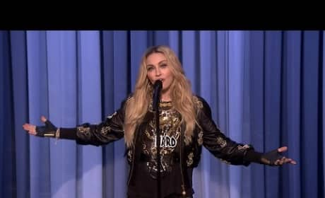 Madonna Does Stand-Up Comedy