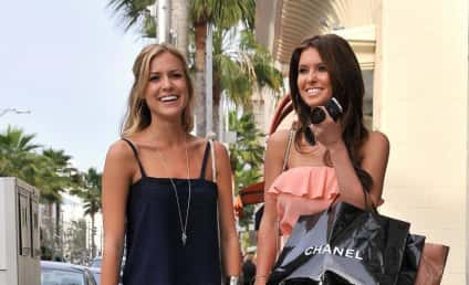 Kristin Cavallari and Audrina Patridge Shop in Beverly Hills, Pretend to Be Friends